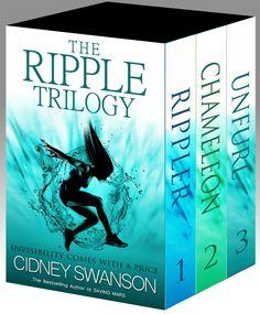 The Ripple Trilogy Books 1-3 by Cidney Swanson ($1.20) http://www.amazon.com/The-Ripple-Trilogy-Books-1-3/dp/B00GKIH19Y%3FSubscriptionId%3D%26tag%3Dhpb4-20%26linkCode%3Dxm2%26camp%3D1789%26creative%3D390957%26creativeASIN%3DB00GKIH19Y&rpid=du1391702160/The_Ripple_Trilogy_Books_1_3