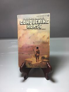 A personal favorite from my Etsy shop https://www.etsy.com/listing/505073589/1959-conquering-horse-paperback-novel