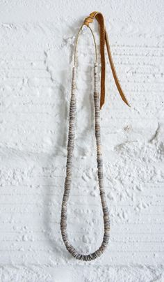 RTH Flat Beaded Necklace