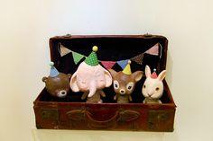 Little friends!! by lulubaozi, via Flickr