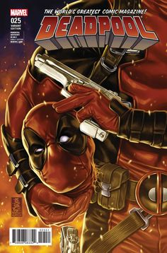 Deadpool #25 Variant