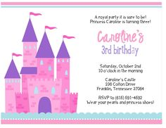 463 best birthday invitations template images on pinterest birthday invitation maker online disney princess party royal princess princess dress up princess filmwisefo
