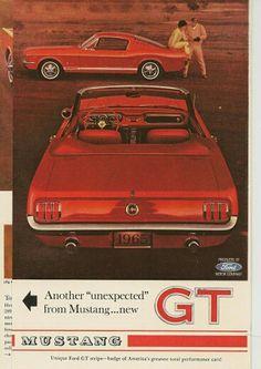 GT Mustang advert