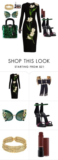 """Untitled #100"" by cas199 on Polyvore featuring Dolce&Gabbana, Dsquared2, Giuseppe Zanotti, Chanel and Laura Geller"