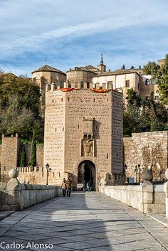 Puente Alcántara, Toledo, Spain Toledo Spain, Villas, Road Trip, Mansions, Architecture, House Styles, Decor, Bridges, Cities