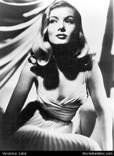 Veronica Lake - 1940s actress ... when she was young - MovieMaidens.com