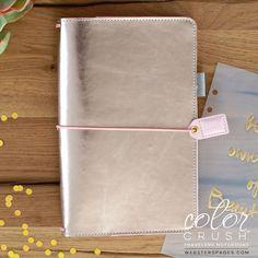 Platinum Rose Travelers Notebook