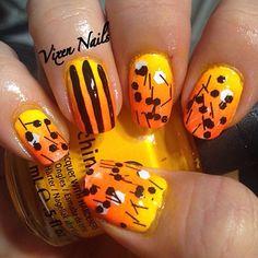 halloween by vixen_nails  #nail #nails #nailart