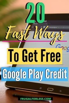 If you're an Android user, it's important to earn free Google Play credit since they allow you to purchase anything you could possibly want or need from the app store.  Finding ways to acquire free Google Play credits means that you don't have to purchase new apps or entertainment from the Google Play store out of pocket. Google Play Codes, News Apps, Financial Goals, Ways To Save Money, App Store, Frugal Living, Saving Money, Android, Entertainment