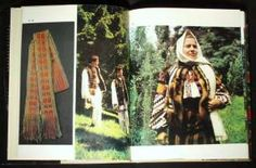 BOOK Romanian Folk Costume ethnic clothing embroidery