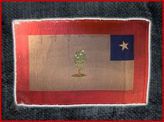 Louisiana Confederate Regimental Flags | Unidentified - 2nd Mississippi, Secession