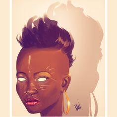 Joo by Ian Quhachi follow @melaninprincess