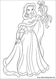 Image Result For Disney Princess Christmas Coloring Pages
