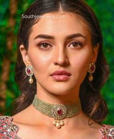 Trending Indian Choker Necklaces: Multi Strand Beads and Pearl Chokers With Pendants, emerald beads choker, ruby beads choker, thick beads Indian Necklace, Beaded Choker Necklace, Gold Necklace, Pearl Choker, Gold Choker, Necklace Set, Antique Jewellery Designs, Indian Jewellery Design, Long Pearl Necklaces