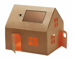 Thanks to its miniature solar panel, you'll get up to 5 hours of LED glow after dark from this 3-inch-tall paperboard house. (Bonus: It's cute enough to brighten up a windowsill by day, too). | Casagami Solar Nightlight