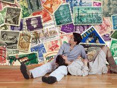 #fototapeta #vintage #design #stamps #znaczki #travel #sciany #wnetrza Rewelacyjna fototapeta dla wielbicieli znaczków, podróży i kolekcjonerów!  http://dekorujemysciany.pl/mix-znaczkow-pocztowych-23.html