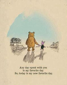 Your Favorite Quote About Friendship? Winnie the Pooh usually hits the nail on the head when it comes to displaying love for your BFF.Winnie the Pooh usually hits the nail on the head when it comes to displaying love for your BFF. Heart Warming Quotes, Winnie The Pooh Quotes, Piglet Winnie The Pooh, Winnie The Pooh Classic, Winnie The Pooh Friends, Vintage Winnie The Pooh, You Are My Favorite, Favorite Person, Favorite Things