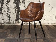 daslagerhaus rooms Lederstuhl vintage Restaurant Design, Restaurant Bar, Country Furniture, Kitchen Chairs, Dining Room Design, Colour Schemes, Industrial Style, Accent Chairs, Shells