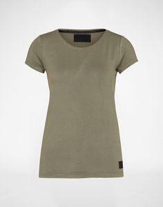 minimum Kastiges Shirt ´Witta´ Damen grün