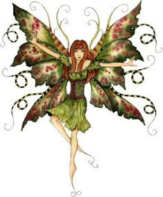 green fairy AMY BROWN