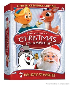 Watch: The Original Christmas Classics (Rudolph the Red-Nosed Reindeer / Santa Claus Is Comin' to Town / Frosty the Snowman / Frosty Returns / Mr. Magoo's Christmas Carol / Little Drummer Boy / Cricket on the Hearth): Movies & TV Kids Christmas Movies, Classic Christmas Movies, Christmas Shows, Christmas Carol, All Things Christmas, Christmas Fun, Christmas Classics, Holiday Movies, Christmas Cartoons