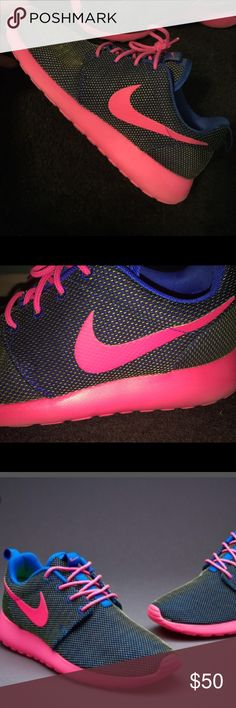 Again, Im predictable.PINK GLITTER! Nike Free 5.0 V4