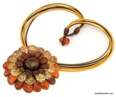 I'm loving amber jewelry lately, especially this!