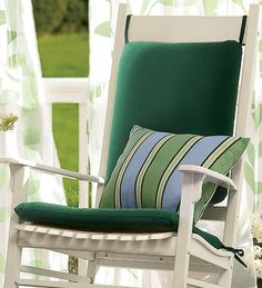 Indoor Outdoor Rocking Chair Cushions Fits Cracker Barrel