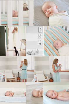 The natural lifestyle newborn sessions of Stephanie Marie Photographie. Nashville TN lifestyle newborn photography.