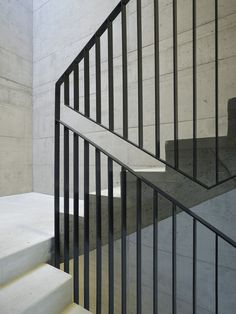 Nissen Wentzlaff Architekten BSA SIA AG, Handlaufdetail, © Ruedi Walti, Basel