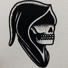 Traditional reaper.