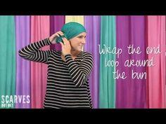 How to Tie a Head Scarf: Knotty Twist