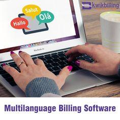 #Multilanguage #Billing #Software - KwikBilling - http://goo.gl/mxVSjO