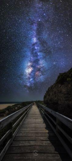 Galactic Bridge by Scott McCook - Moore River Australia