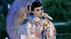 """Katy Perry Called a Racist for Sexy Geisha Performance at the AMAs- """"Perry spent a while doing poses straight off of a """"sexy Geisha"""" Halloween costume package, and her costume was — as pointed out at Kotaku — a mix between a kimono and a Chinese cheongsam (it's worth noting that Perry's costume featured an ample amount of cleavage, which is not at all characteristic of either garment)."""" http://jezebel.com/katy-perry-called-a-racist-for-sexy-geisha-performance-1471038933"""