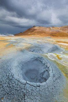 Námafjall, Hverir geothermal area, Mývatn, Iceland