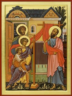 Άγ.Παύλος Πρωτοκορυφαίος Απόστολος ___june 29 ( san Paolo- santi Aquila e Priscilla