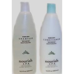 """Trader Joe's """"Nourish"""" Shampoo & Conditioner... When I did my natural products switch a few months ago, I switched to this shampoo/conditioner because it didn't have sodium lauryl sulfates... this stuff ROCKS and makes my hair so soft & bouncy... PLUS... it's around $3.00 a bottle! Definitely worth a try for that price, I guarantee you'll love the smell & natural ingredients"""