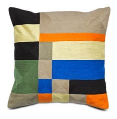 Modern cushions in mixed patterns