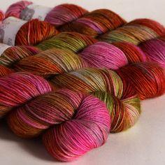 Flickr: Hedgehog Fibres' Photostream Yarn Color Combinations, Beautiful Color Combinations, Hedgehog Fibres, Spinning Yarn, Yarn Stash, Yarn Colors, Fiber Art, Crocheting, Eye Candy