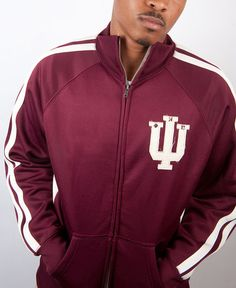 """Nupes, this Kappa Alpha Psi Vintage Track Jacket is the """"Signature Track Jacket"""" for NupeMall. It's a must have for your Phi Nu Pi  Paraphernalia Kollection. NupeMall Exclusive."""