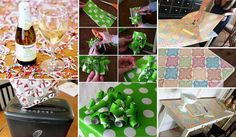 17 Genius Ideas to Reuse Leftover Holiday Wrapping Paper