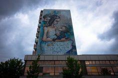 herakut mural  displaced thoughts ausstellung berlin  urban nation  urbanpresents