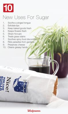 10 New Uses for Sugar