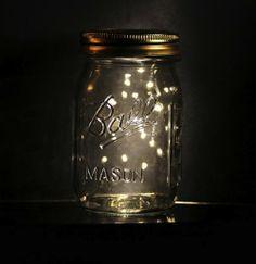 Lightning bugs and mason jars.