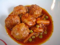 ALBONDIGAS A LA JARDINERA DE MI MADRE | Cocinar en casa es facilisimo.com