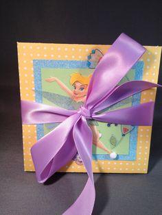 Tinkerbell expandable mini album / scrapbook.