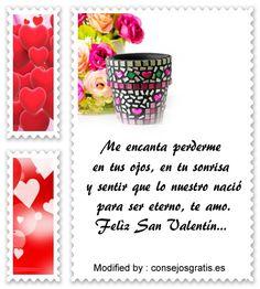mensajes del dia del amor y la amistad para compartir por Whatsapp,enviar tarjetas del dia del amor y la amistad por whatsapp: http://www.consejosgratis.es/mensajes-para-mi-novia-por-san-valentin/
