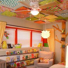 O que fazer com suas paredes? Decorações nos tetos e paredes.