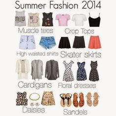 How to Chic: SUMMER FASHION 2014